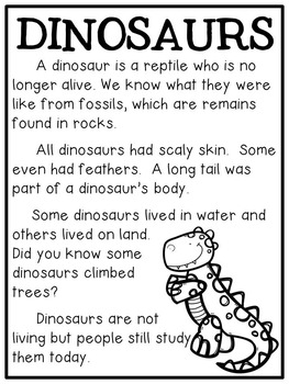 DINO-MITE Printables (Dinosaur Themed Literacy and Math Activities)