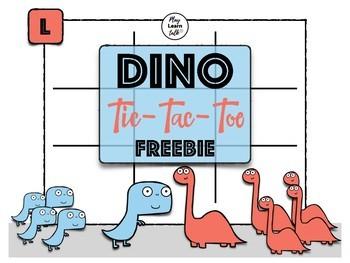 DINO Tic-Tac-Toe (Freebie)