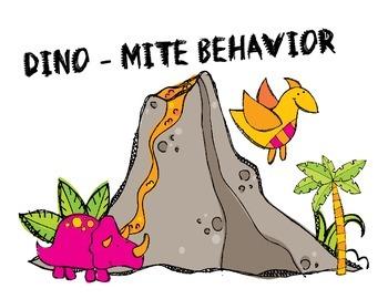 DINO-mite behavior clip chart