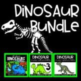 DINOSAUR BUNDLE Interactive Notebook and Dinosaur Themed M