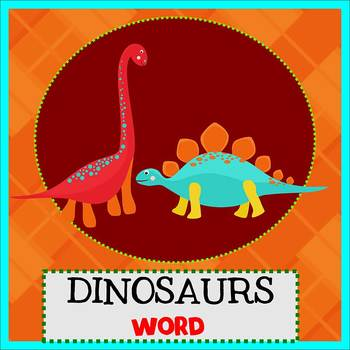 DINOSAUR - Newsletter Template WORD