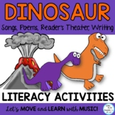 Dinosaur Songs and Poems -Readers Theater, Action Story, a