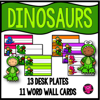 Dinosaurs Behavior and Rewards for Character Education