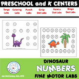 Fine Motor Numbers Centers