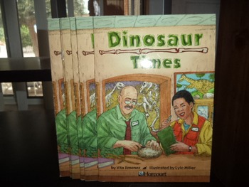 DINOSAUR TIMES       ISBN0-15-323169-6    (SET OF 6)