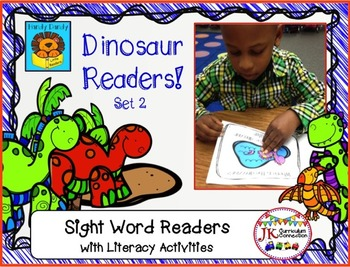 DINOSAURS! Beginning Readers for Guided Reading – Set 2