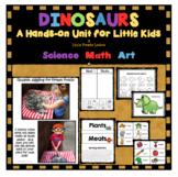DINOSAURS FOR LITTLE KIDS: Hands-on Science, Math & Art