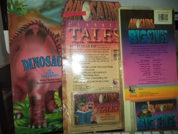 DINOSAURS  TALES   BIG SINGS   (SET OF 3)