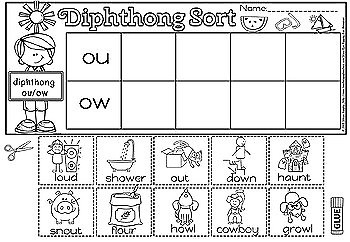 DIPHTHONG SORT(50 % OFF FOR 48 HOURS)