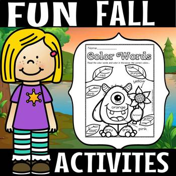 Fun fall activities(50% off for 48 hours)