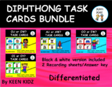 DIPHTHONG TASK CARD BUNDLE/WRITE THE ROOM/SCOOT