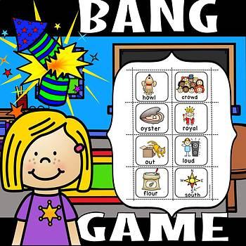 DIPHTHONG BANG GAME