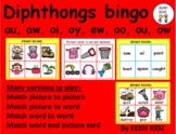 DIPHTHONGS BINGO/LOTTO