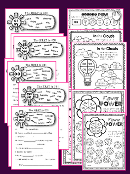 DIPHTHONGS {NO PREP} PRINTABLES