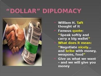 DIPLOMACY- THE VIEWS OF THREE PRESIDENTS