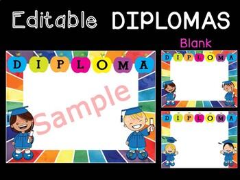 DIPLOMAS : Rainbow Kids
