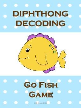 DIPHTHONG DECODING GO FISH GAME