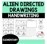 DIRECTED DRAWING & HANDWRITING PRACTICE ALIENS!