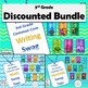 DISCOUNTED Bundle of all 2nd Grade/3rd Grade Combo Common Core Brag Tags