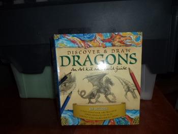 DISCOVER  DRAW  DRAGONS   ART KIT