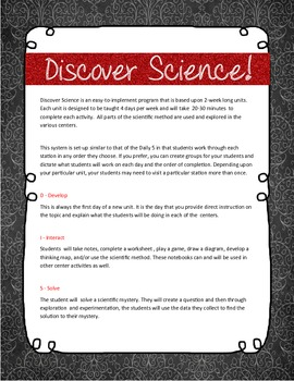 DISCOVER Science!