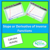 Calculus - Slope or Derivative of Inverse Functions
