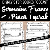 Disney's female FILM COMPOSERS - podcast listening with worksheet activity
