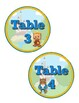 DISNEY THEMED: Beauty and the Beast TABLE NUMBERS by Learner's Hub