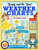 DISNEY THEMED: Beauty and the Beast Weather Chart by Learner's Hub