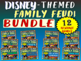 DISNEY-THEMED FAMILY FEUD GAME BUNDLE - ALL 12 VERSIONS!!!