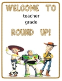 DISNEY THEMED TOY STOY CLASSROOM SIGN-EDITABLE