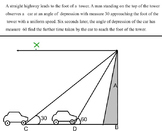 DISTANCE AND HEIGHT 36 WORD PROBLEM VERY EASY EXPLANATION