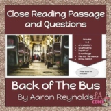 CLOSE READING PASSAGE AND QUESTIONS DISTANCE LEARNING