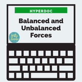 DISTANCE LEARNING Balanced, Unbalanced, and Net Forces
