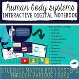 DISTANCE LEARNING Body Systems Interactive Digital Notebook
