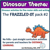 DISTANCE LEARNING DINOSAUR Themed Curriculum for Parents T