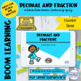 DISTANCE LEARNING Decimal and Fraction Boom Learning℠
