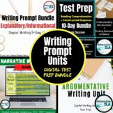 DISTANCE LEARNING: Digital Writing Prompt Test Prep Unit B