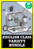 DISTANCE LEARNING: ENGLISH BUNDLE