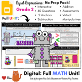 DISTANCE LEARNING: EQUAL EXPRESSIONS - Grade 2 MATH - DIGI