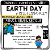 DISTANCE LEARNING - Earth Day Shared Reading Poem - Intera