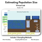 DISTANCE LEARNING Estimating Population Size Virtual Lab