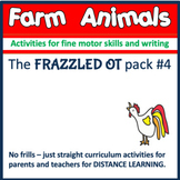 DISTANCE LEARNING FARM ANIMAL Themed Curriculum for pre-k