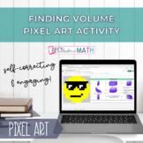 DISTANCE LEARNING - Finding Volume Pixel Art w/ Google Sheets!