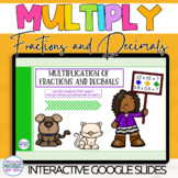 DISTANCE LEARNING Fraction and Decimal Multiplication