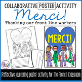 DISTANCE LEARNING - French collaborative activity to thank