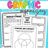 DISTANCE LEARNING Reading Response Graphic Organizers