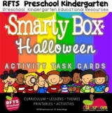 DISTANCE LEARNING * HALLOWEEN Activity Task Cards for PREK
