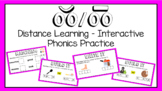 DISTANCE LEARNING - Interactive Phonics: Short and Long /oo/ Sounds