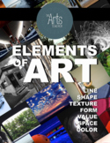 DISTANCE LEARNING--Introduction to the Elements of Art